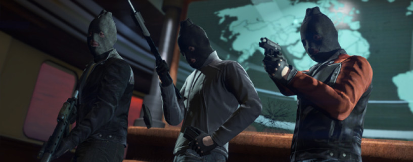 Watch the TV spot for GTA Heists taken directly from a PC