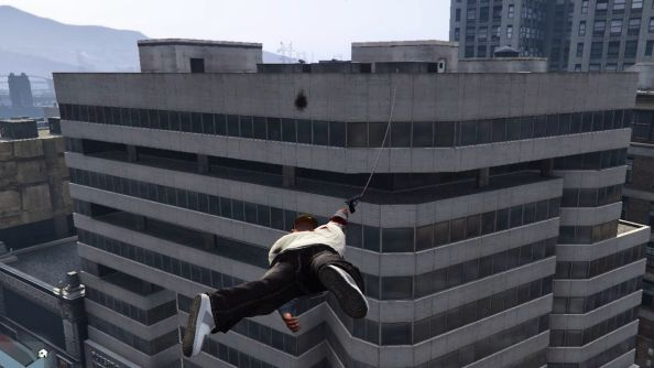Photo of GTA V's mod brings Just Cause 2 grappling hook to the game