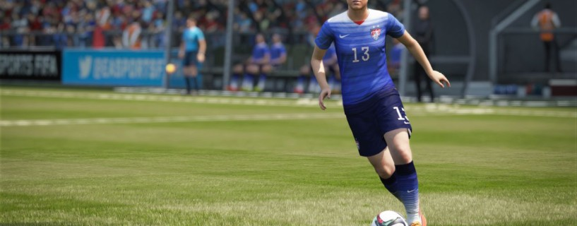 Fifa 16 will have women teams for the first time in the franchise