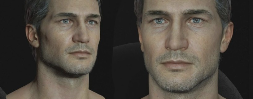 Faces in Uncharted 4 consist of up to 500 bones