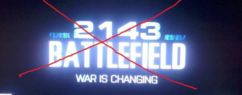 لا وجود للعبة Battlefield 2143 أصلا!