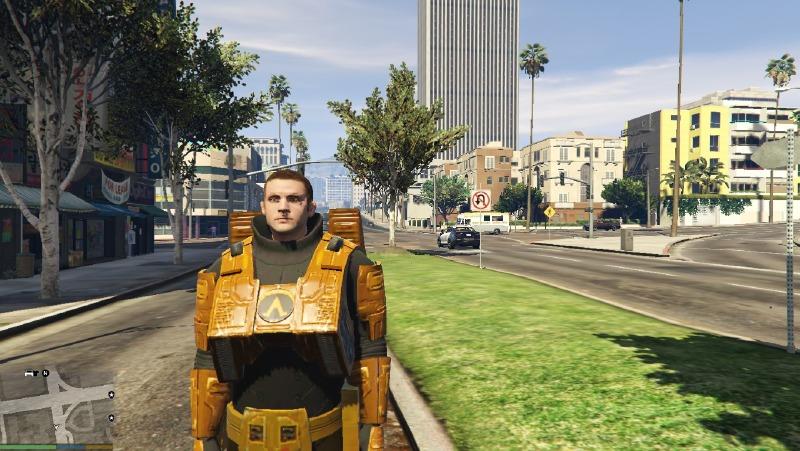 Photo of هذا الـMod لنسخة الحاسب الشخصي يدمج ما بين GTA V و Half-Life