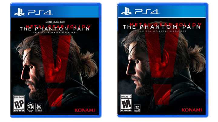 Photo of Konami completely removes Hideo Kojima's name from the MGS V cover art
