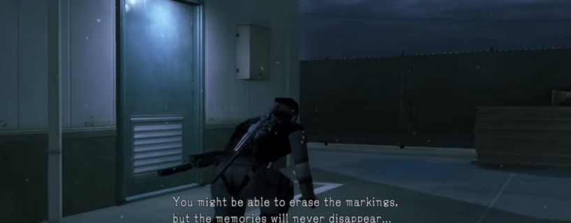 Secret message in MGS V: Ground Zeroes told us about Kojima's deletion before we knew it