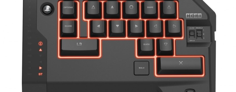 Playstation consoles to get a gaming Keyboard and Mouse set this year