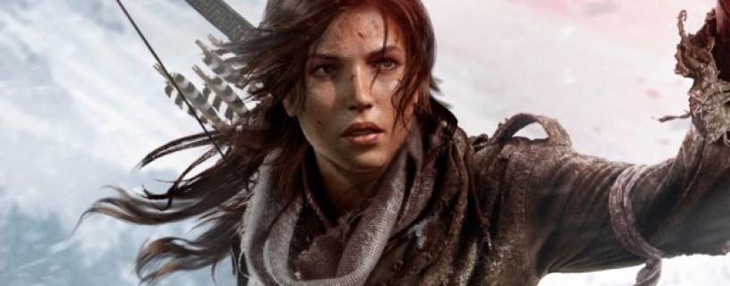 شاهد تعابير الوجه وحركات Lara Croft بلعبة Rise of the Tomb Raider