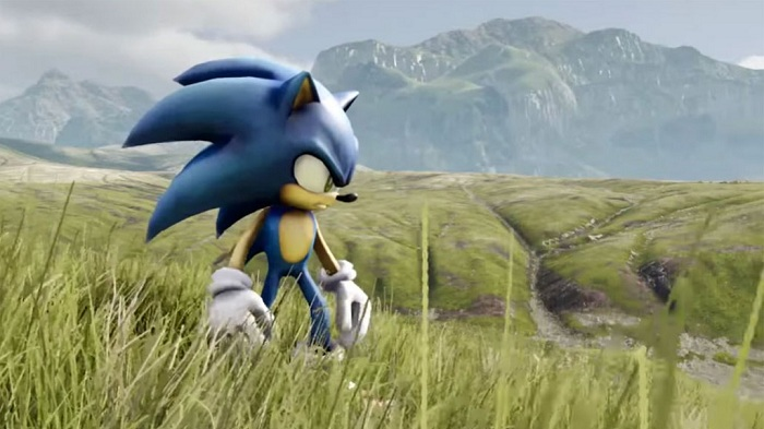 Photo of This is what happens when you put Sonic in a realistic field made by Unreal Engine 4