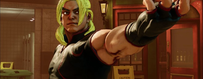 Ken joins the Street Fighter V as never seen before