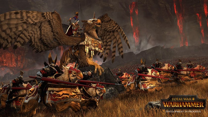 Photo of The first in-game cinematic trailer of Total War: Warhammer looks epic