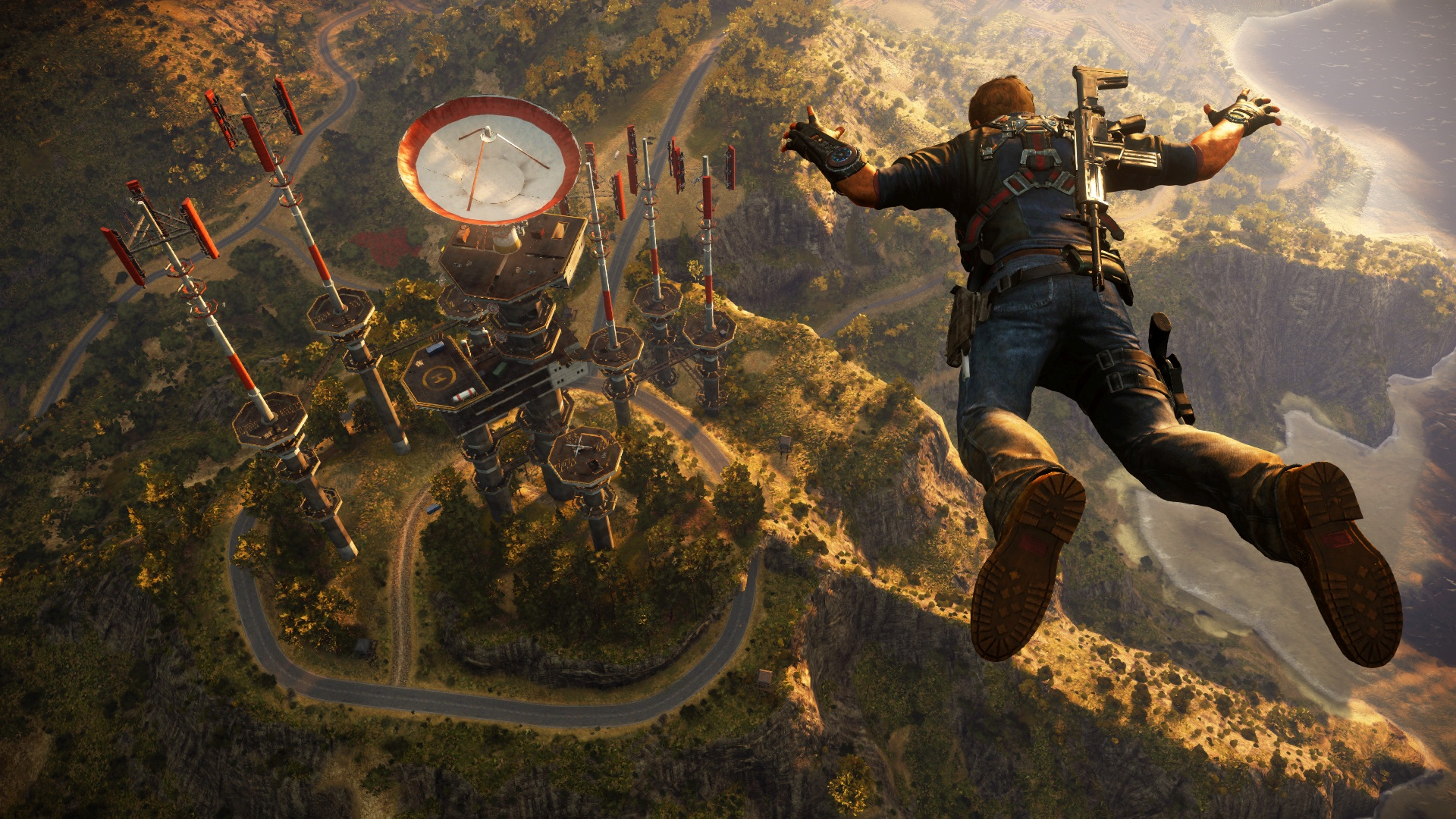 Photo of Just Cause 3's Gameplay Demo