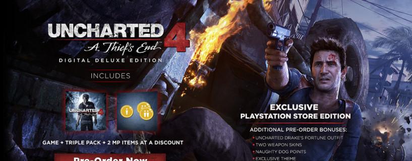 الإعلان عن موعد إصدار Uncharted 4