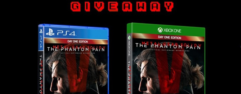 اربح نسخة Metal Gear Solid The Phantom Pain مجانا