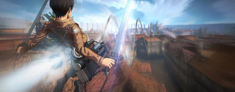 معلومات وصور جديدة للعبة Attack on Titan القادمة