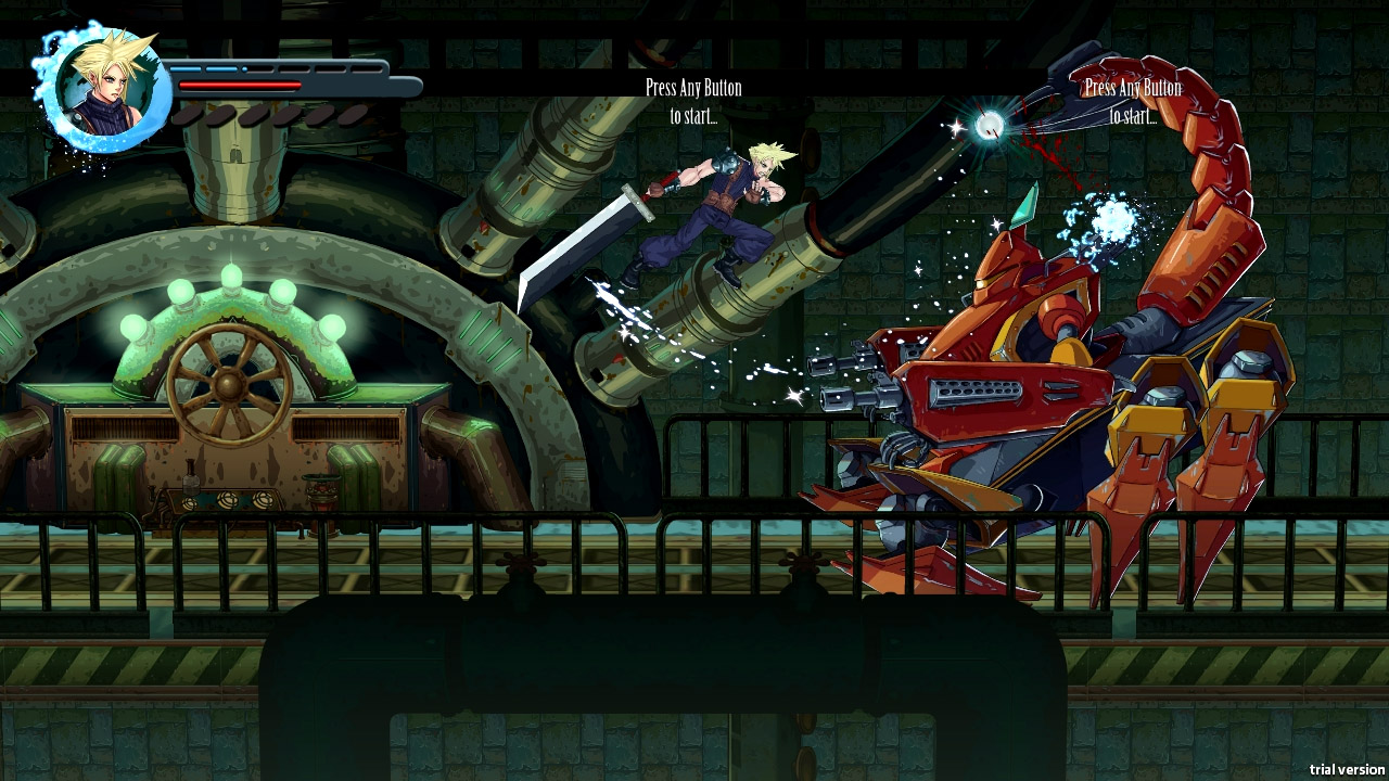 Photo of Fan project turns Final Fantasy VII into a 2D beat-em-up