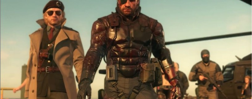 Hideo Kojima says farewell with the last Metal Gear Solid V: The Phantom Pain trailer