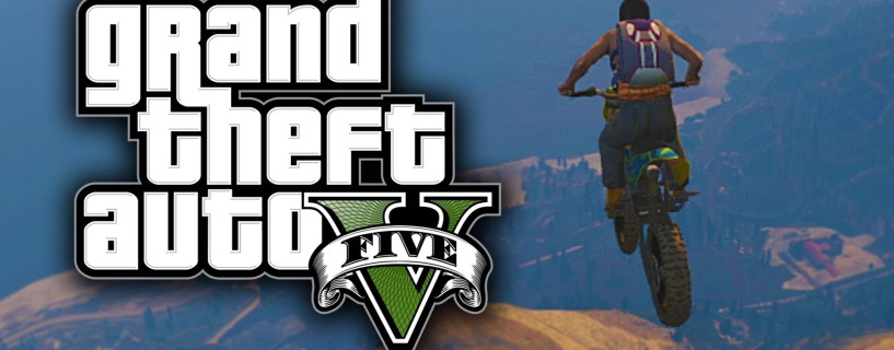 Watch one of the craziest stuns made in GTA V with a motorcycle