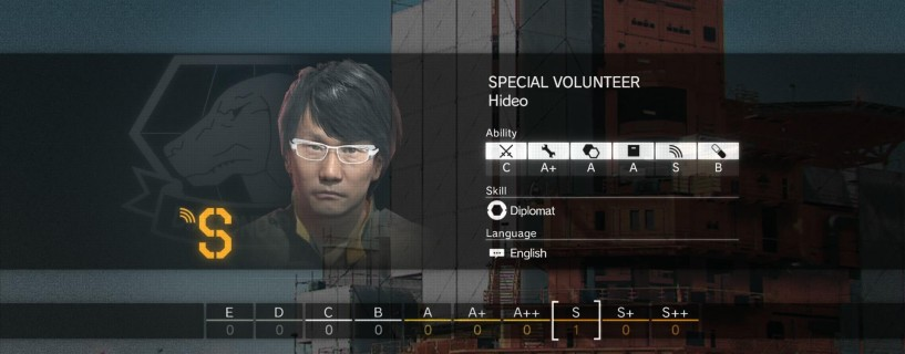 You can recruit Hideo Kojima to your base in Metal Gear Solid V: The Phantom Pain