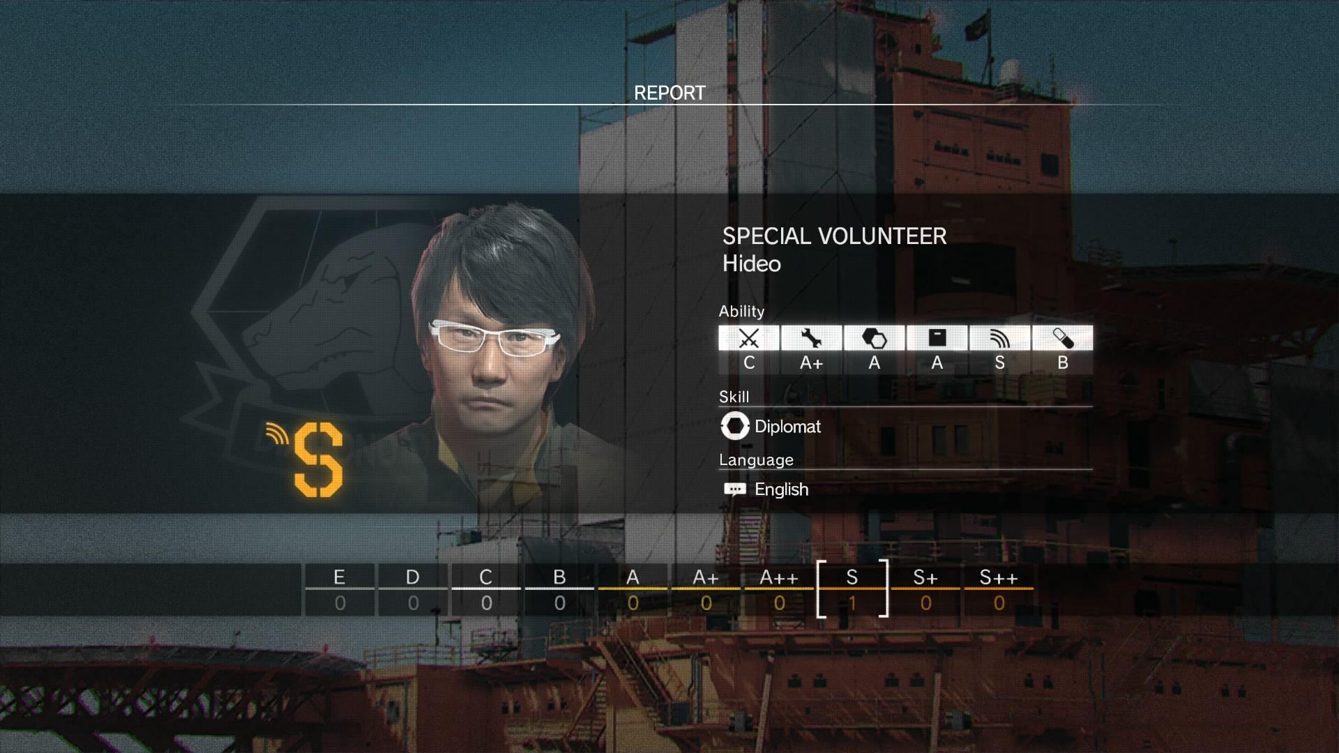 Photo of يمكنك ضم Hideo Kojima إلى صفوف جنود قاعدتك في Metal Gear Solid V: The Phantom Pain