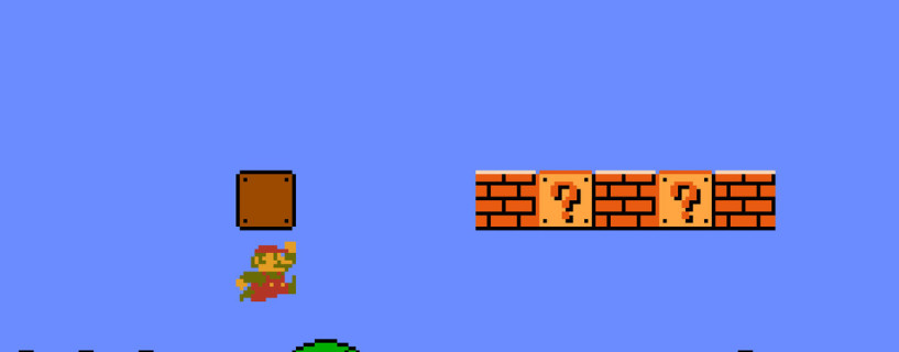 Watch how Miyamoto designed the first level ever in Super Mario Bros