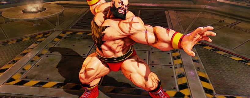 رجوع Zangief للعبة Street Fighter V
