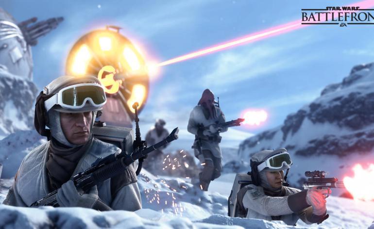 Photo of عرض تلفزيوني للعبة Star Wars Battlefront
