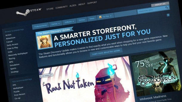Photo of Steam platform doesn't need ads according to Valve
