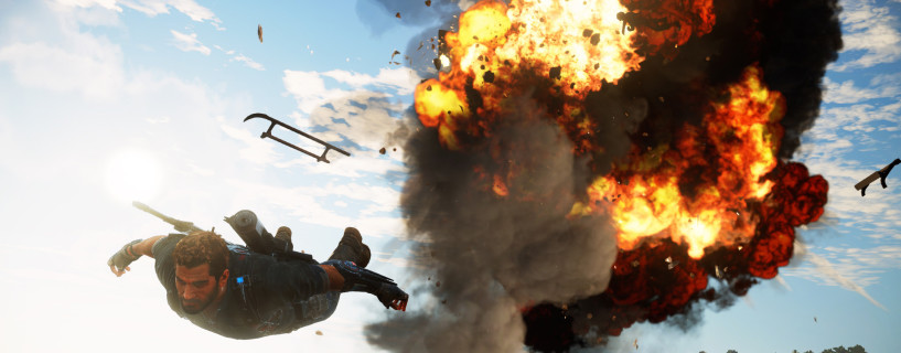 Watch this Just Cause 3 gameplay trailer in 4K