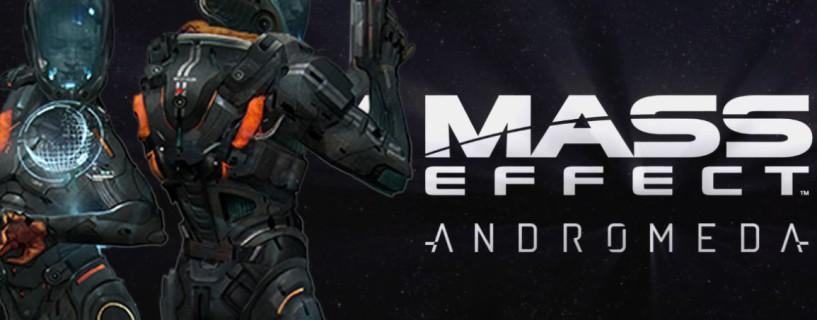 تسريب مقطع من لعبة Mass Effect: Andromeda
