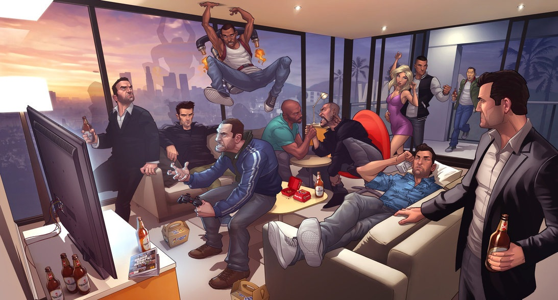 Photo of This is how much time it takes to walk across all GTA games