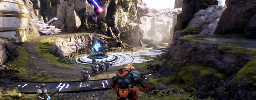 الإعلان عن لعبة استديو Epic Games الجديدة من نمط MOBA TPS