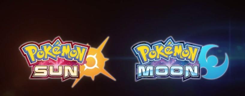 الإعلان رسميا عن لعبتي Pokémon Sun و Pokémon Moon