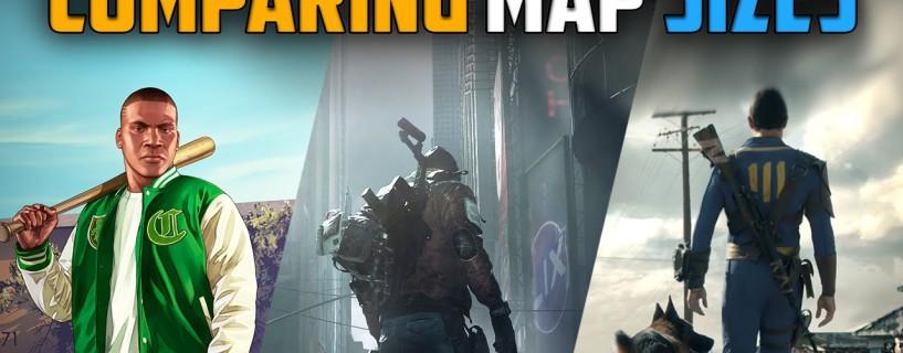لمن هي أضخم خريطة؟ The Division ، GTA V أم Fallout 4؟