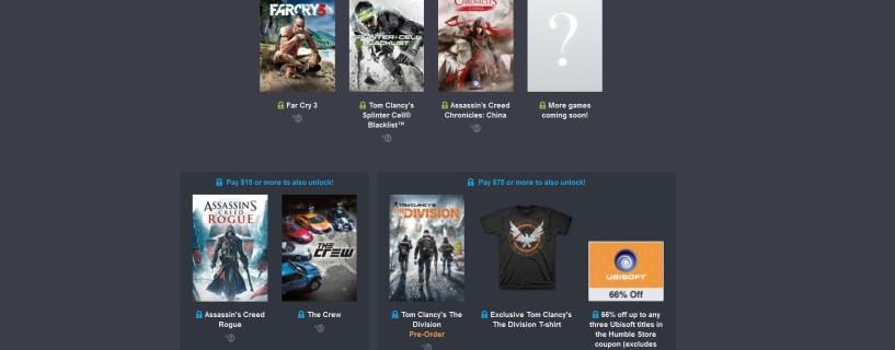 احصل على The Crew، Rogue والمزيد مقابل $15 فقط في Humble Ubisoft Bundle