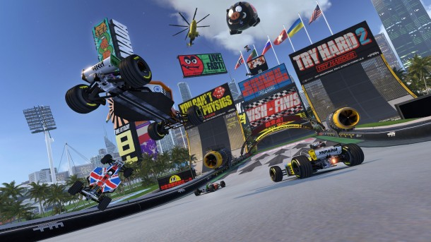 Photo of عرض دعائي جديد للعبة TrackMania Turbo و تحديد موعد اصدارها