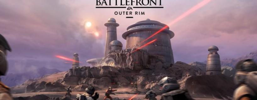 عرض دعائي لمحتوى The Outer Rim للعبة Star Wars Battlefront