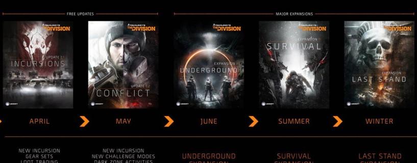تفاصيل المحتويات الإضافية للعبة The Division
