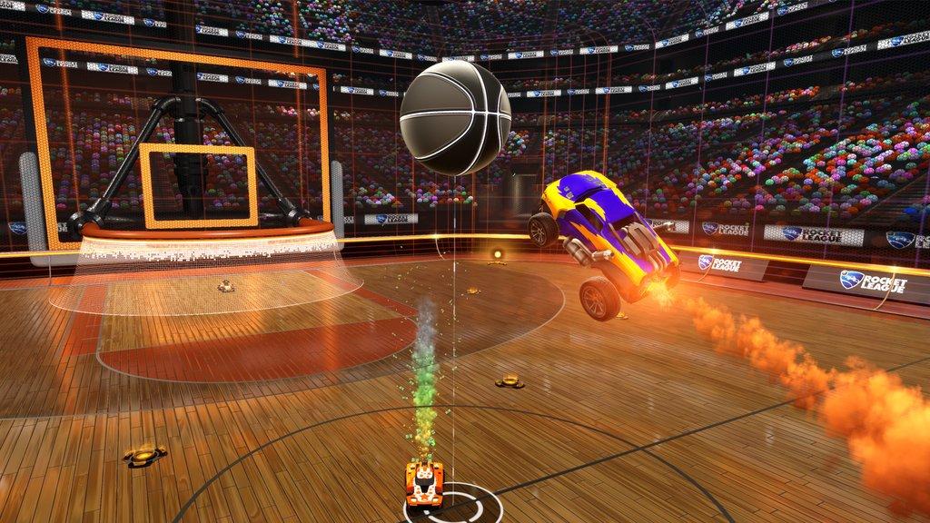 Photo of لعبة Rocket League تتحصل على طور كرة السلة الشهر القادم