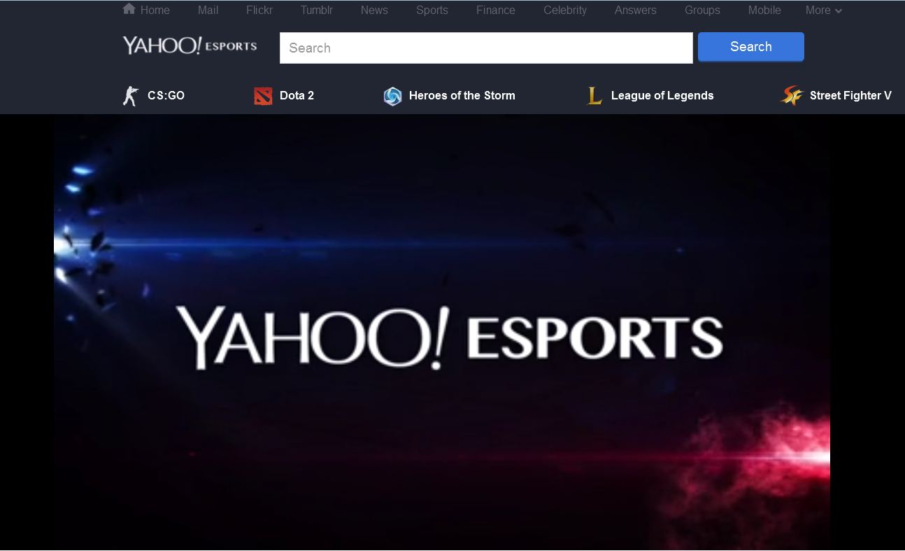 Photo of افتتاح Yahoo! Esports رسمياً