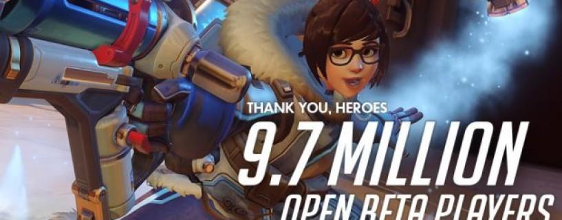 البيتا المفتوحة للعبة Overwatch تحقق رقم قياسي