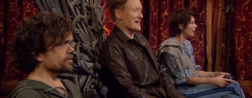 نجوم Game of Thrones هم ضيوف Conan في الحلقة الجديدة من Clueless Gamer للعبة Overwatch