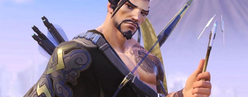 إطلاق عرض الرسوم المتحركة لشخصية Hanzo في لعبة Overwatch