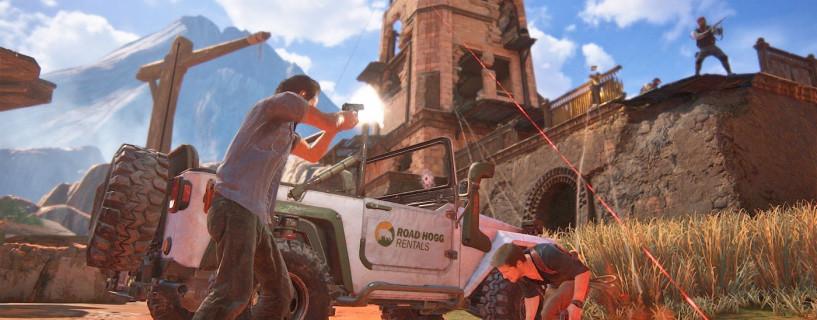 كل التحديثات والمحتويات الإضافية سوف تكون مجانية للعبة Uncharted 4