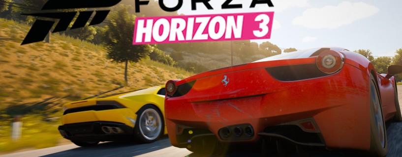 شاهد 8 دقائق لأسلوب اللعب في Forza Horizon 3
