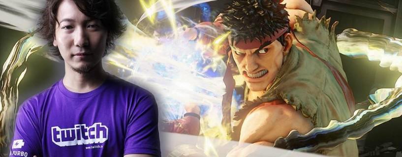 موقع Twitch يختار لاعب Street Fighter المحترف Daigo كسفيره العالمي الأول
