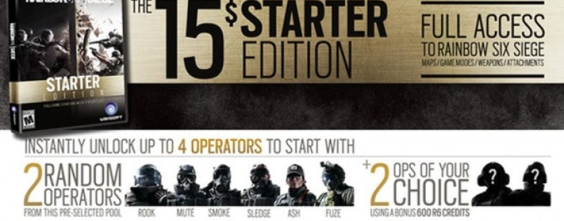 Rainbow Six Siege Starter Edition Returns Exclusively On Uplay