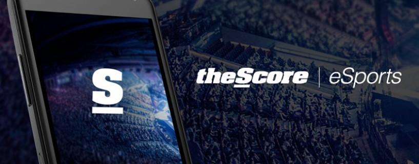 ميزة نتائج البطولات المباشرة تضاف إلى تطبيق theScore Esports الأشهر