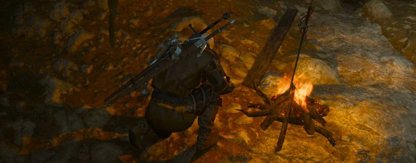 Dark Souls and The Witcher 3 meet up with this neat Easter egg