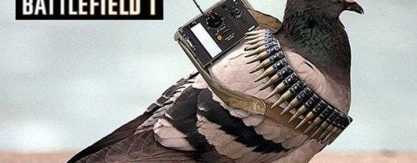 """طور """"الحمامة"""" قادم للعبة Battlefield 1؟"""