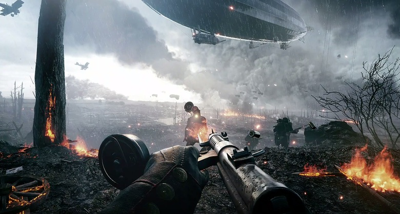 Photo of Watch the differences between Battlefield 1's graphical settings
