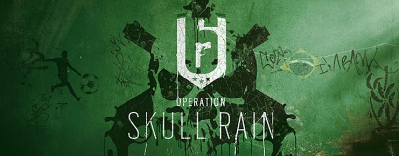 إضافة Skull Rain للعبة Rainbow Six Siege أصبحت متاحة للتحميل الآن